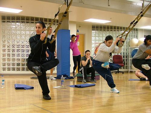 Cvičení TRX