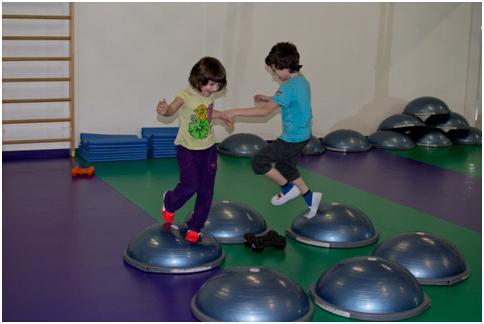 Balanční cvičení pro děti